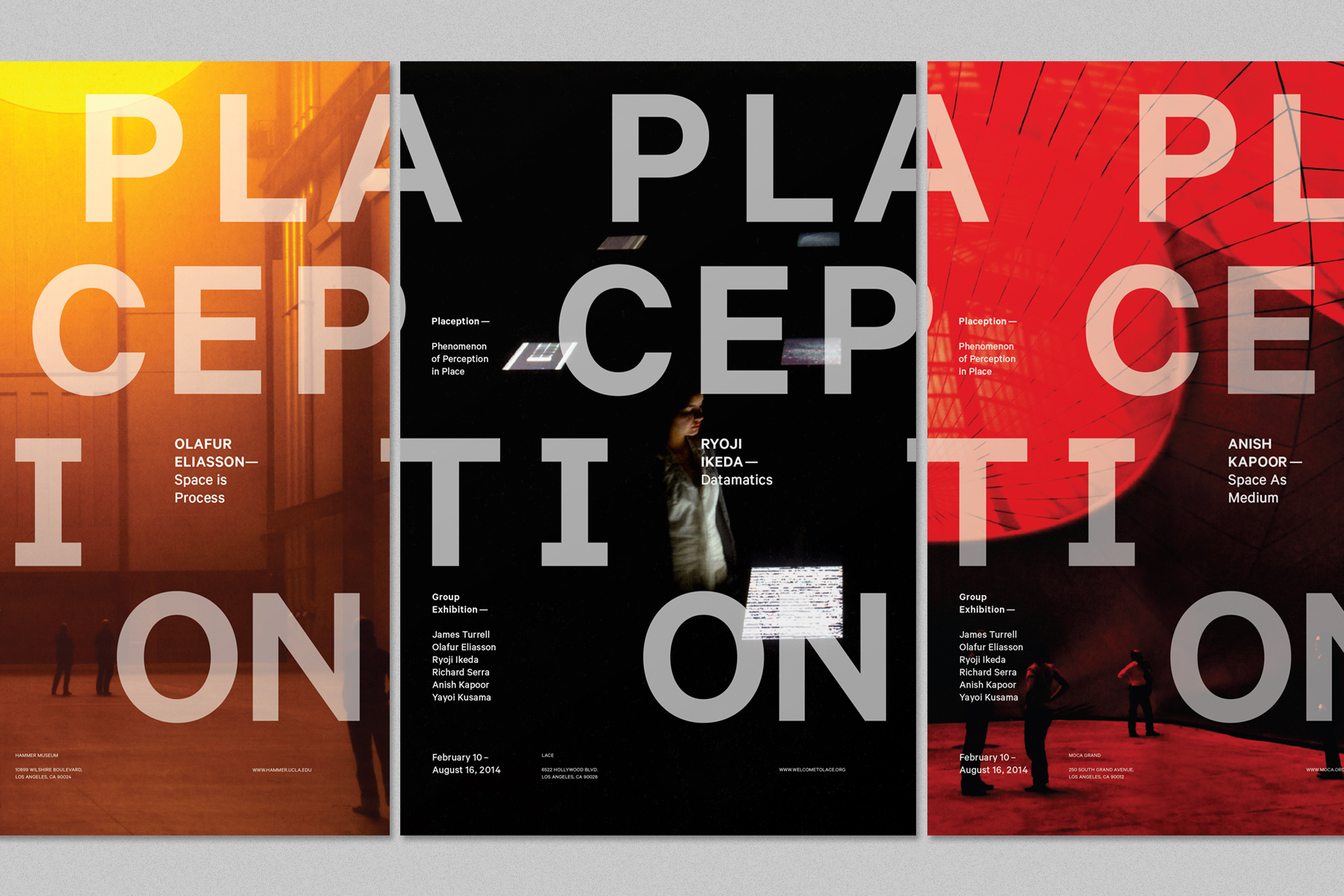 slg plaception poster series